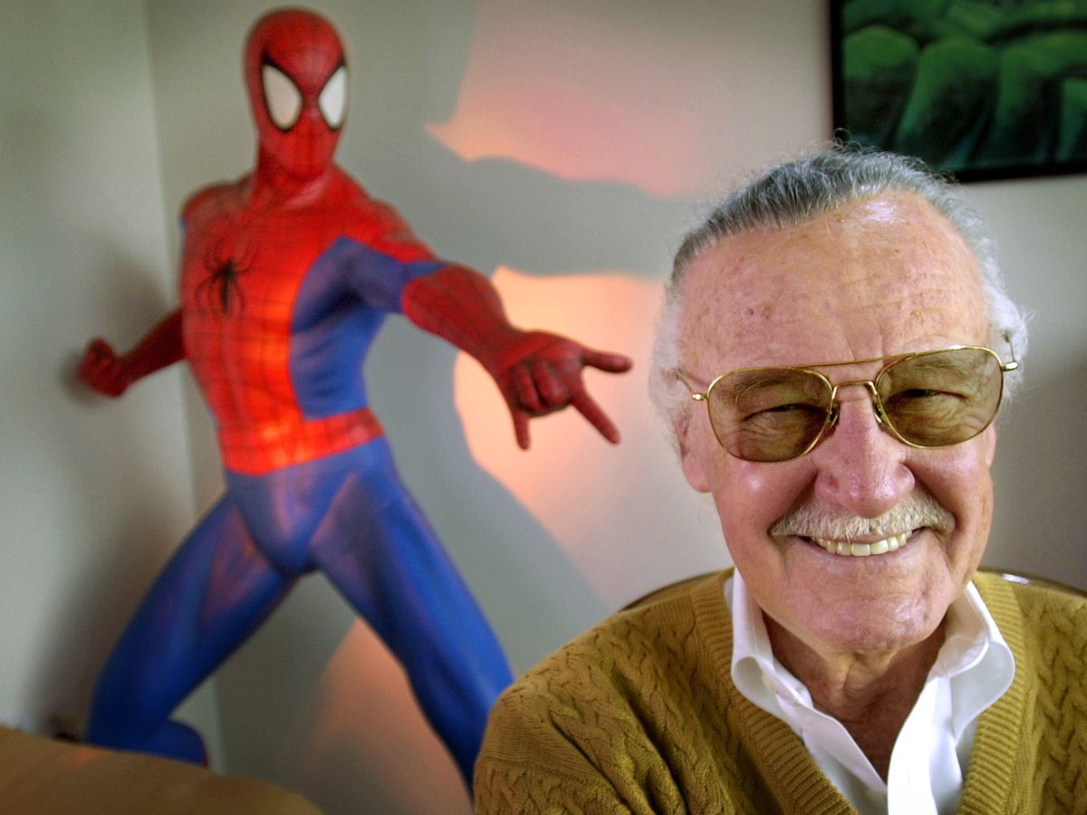 Comic book genius Stan Lee, Spider-Man creator, dies at 95