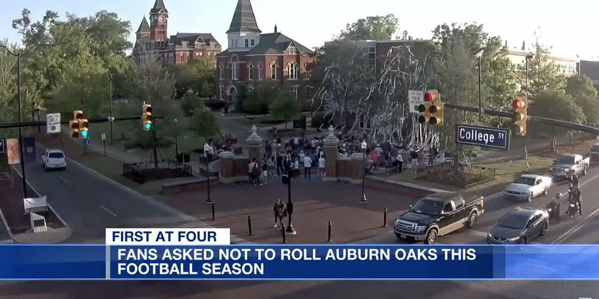 Fans asked not to roll Auburn Oaks this football season
