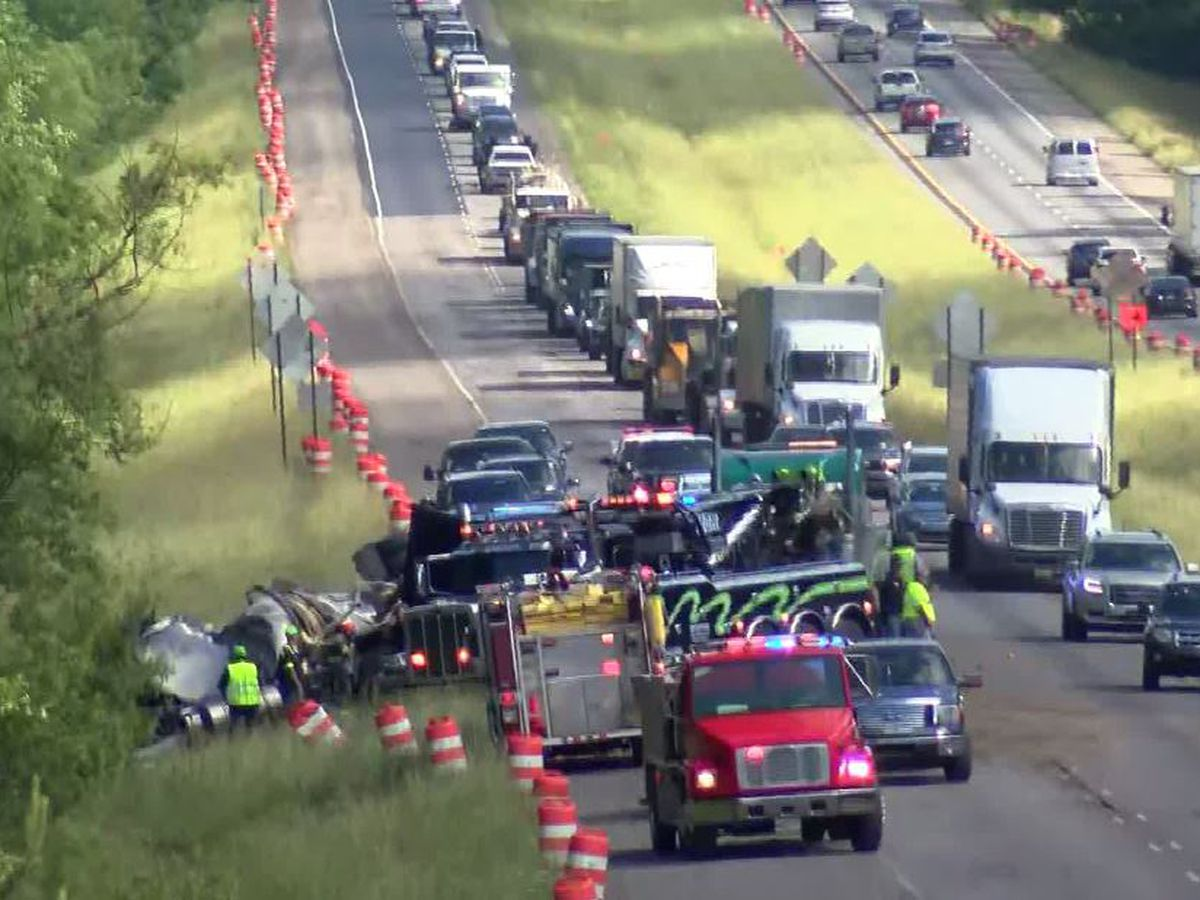 I-65 NB in Autauga County reopens hours after fatal crash; victim identified