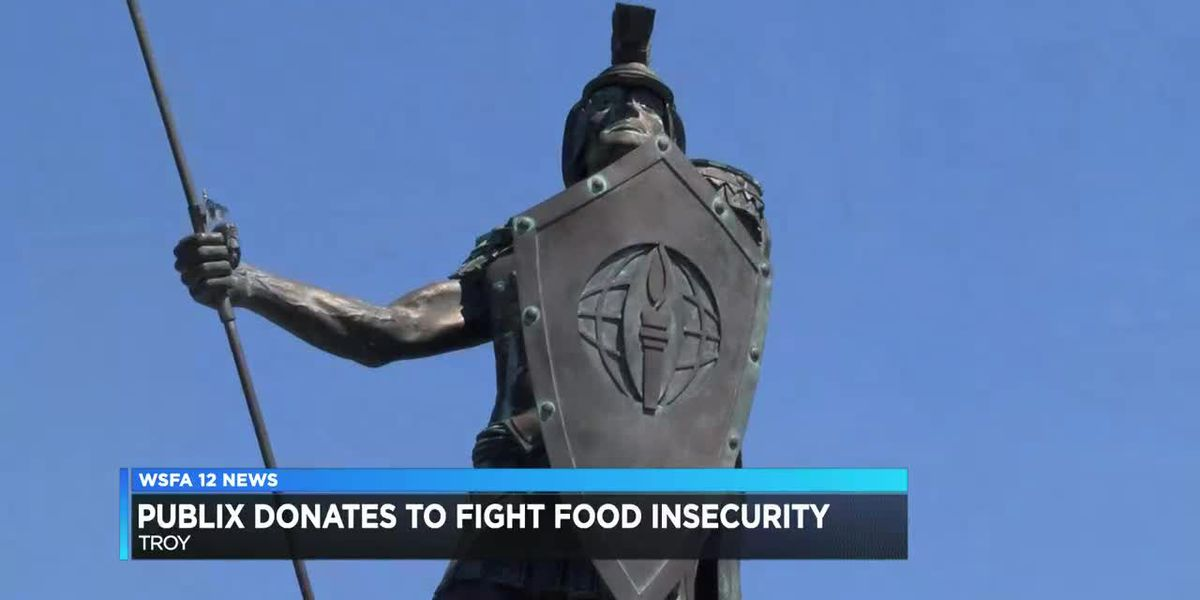 Publix makes donation to Troy University for food security