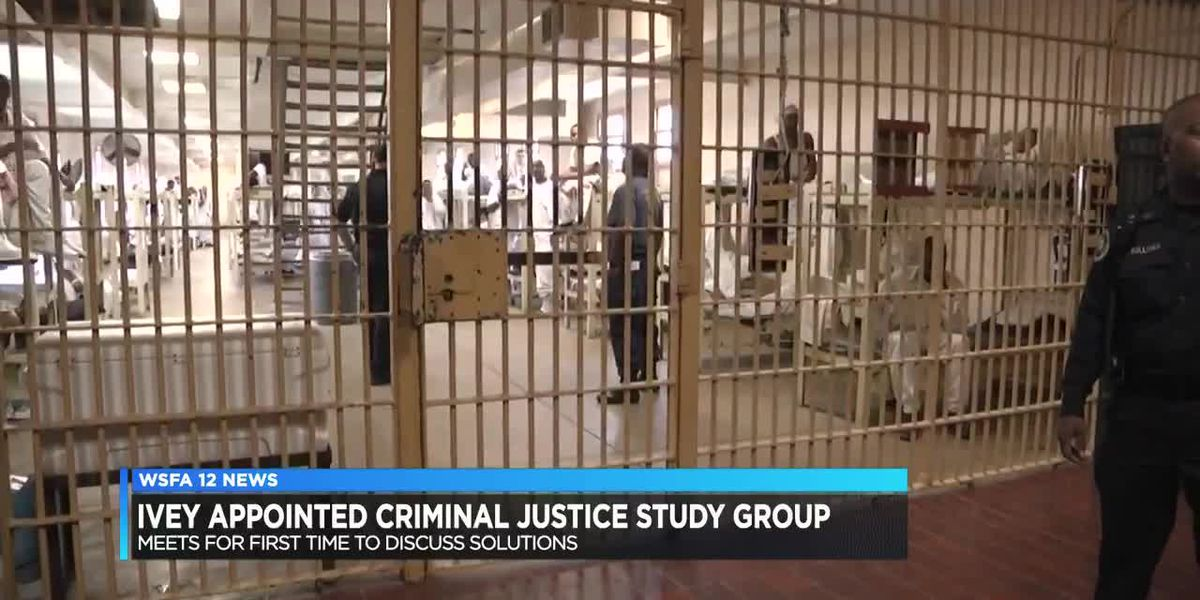 Gov. Ivey holds first criminal justice study meeting