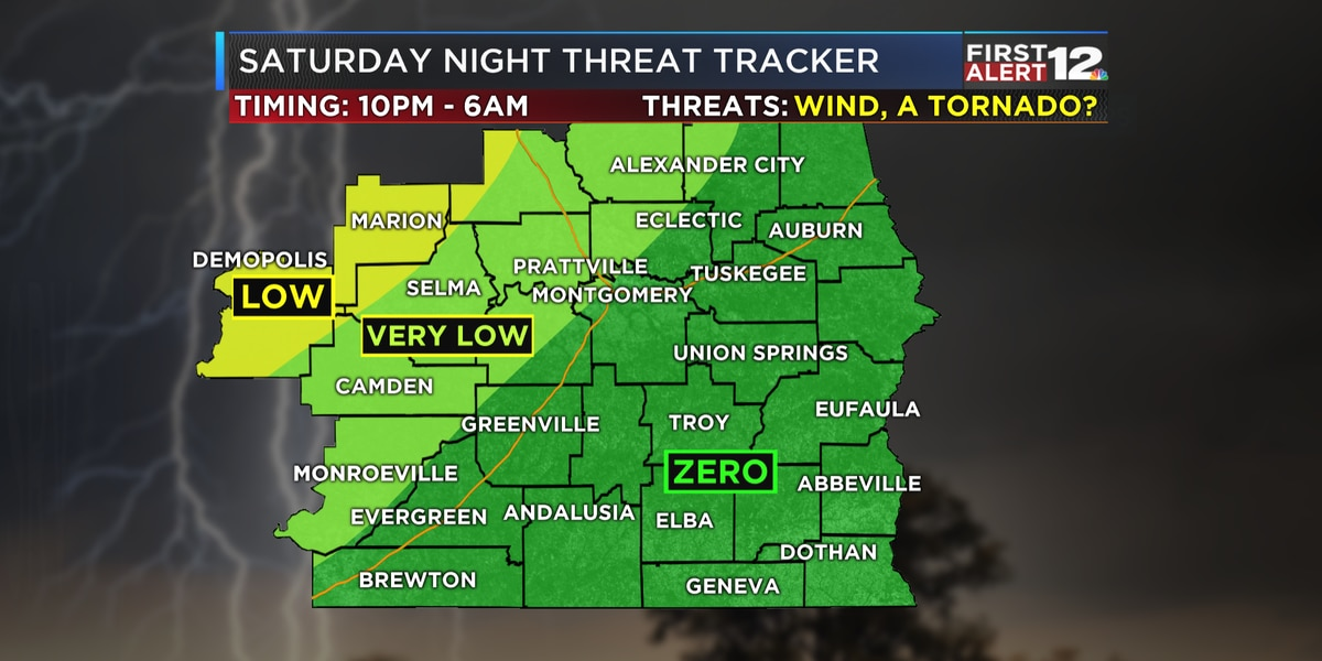 First Alert: Warm and mostly dry Saturday, Storms overnight Saturday night