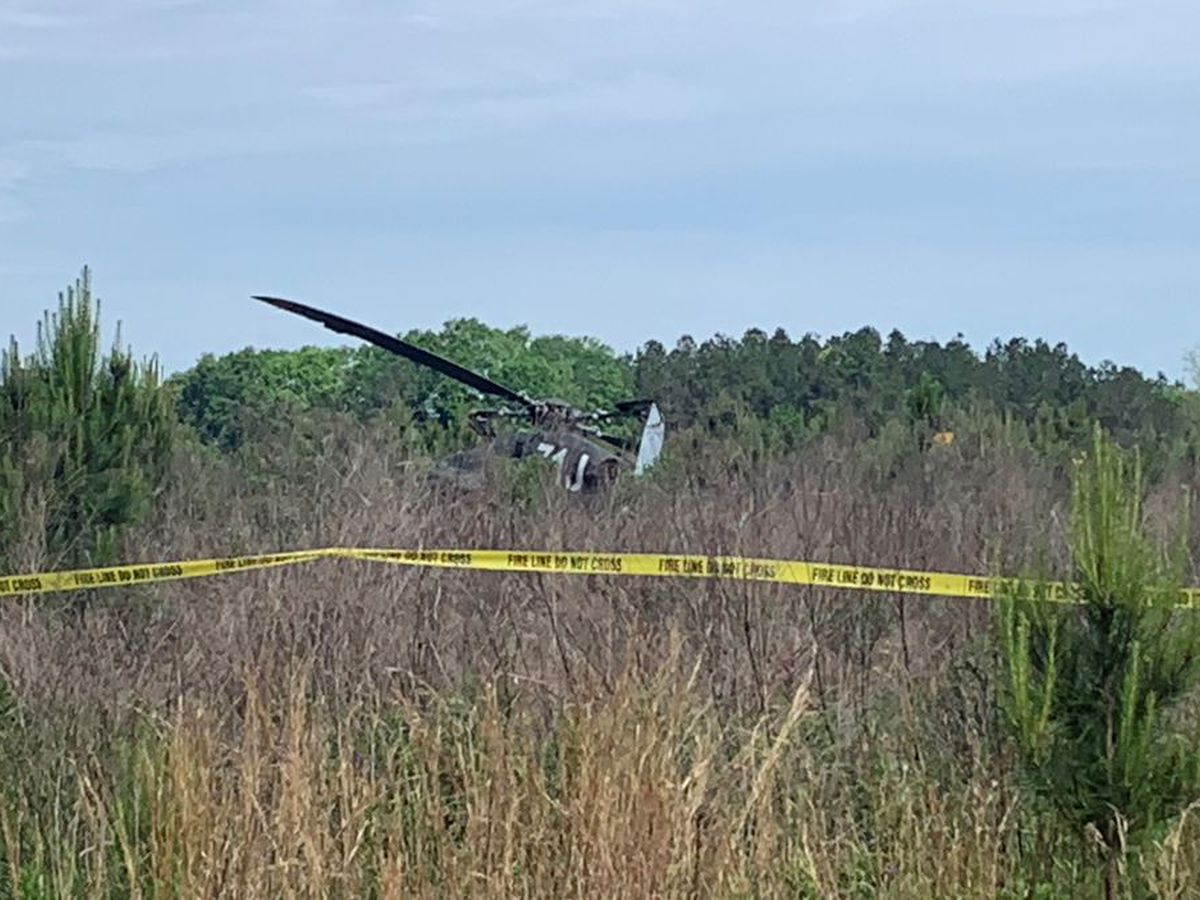 2 injured after Fort Rucker training helicopter crash