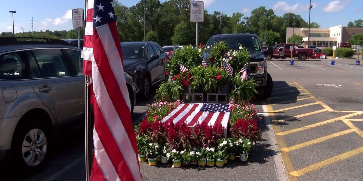 Lowe's honors fallen service members with parking spot displays