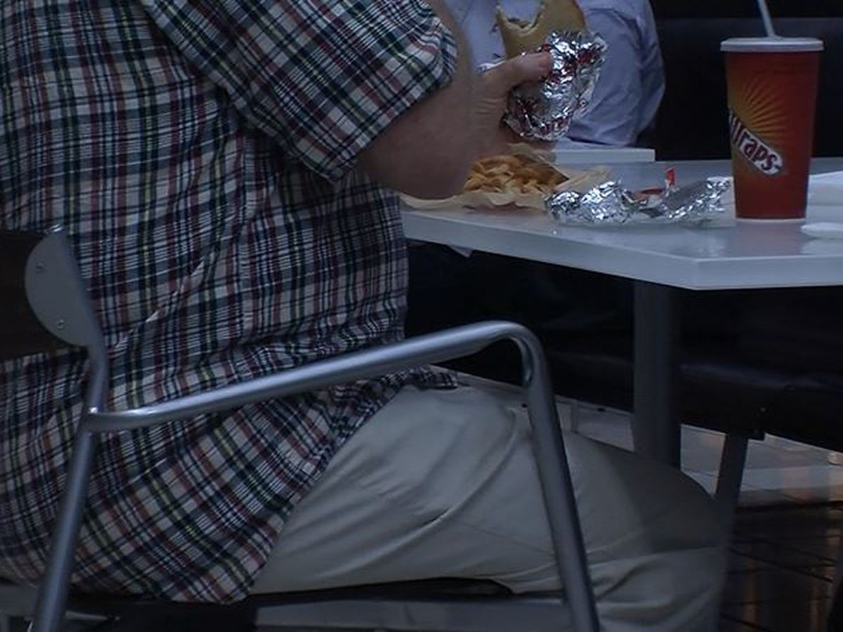 Deep South states have among the worst adult obesity rates