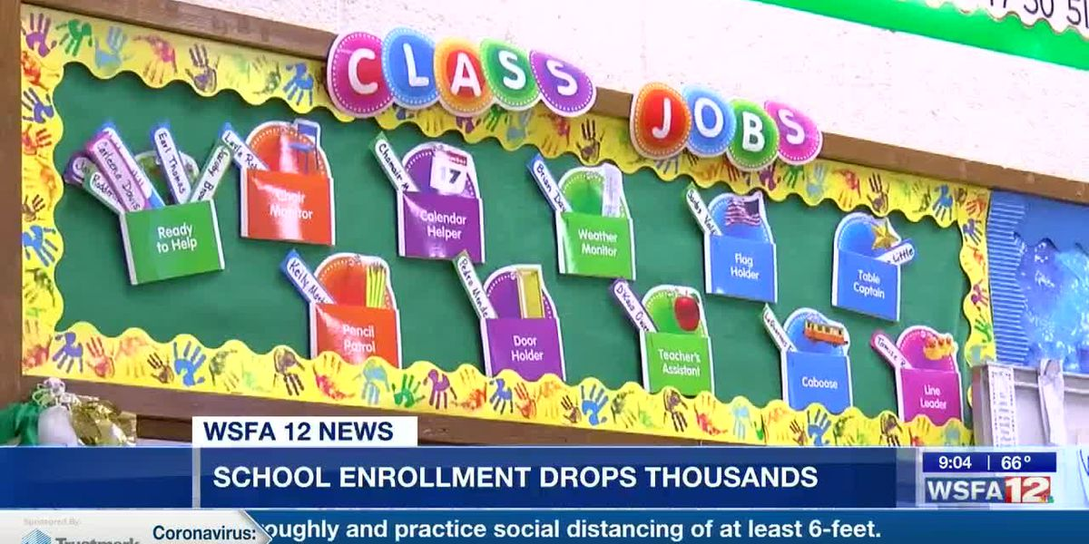 School enrollment dropping in Alabama