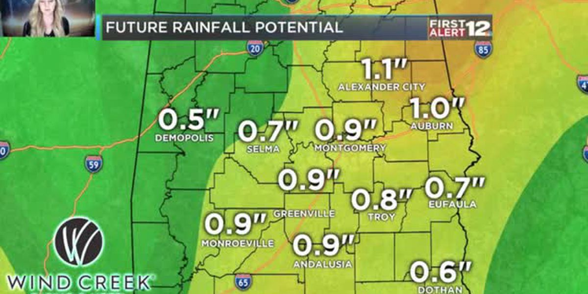 How much rain will fall? Let's talk totals.