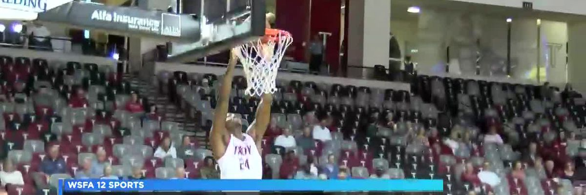 Troy men's basketball falls at home to Georgia Southern