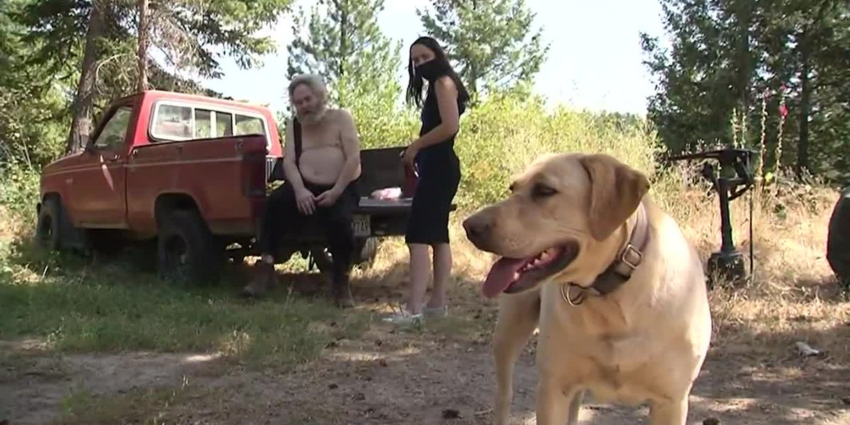 Wash. man credits dog with survival after neighbor allegedly left him in woods to die