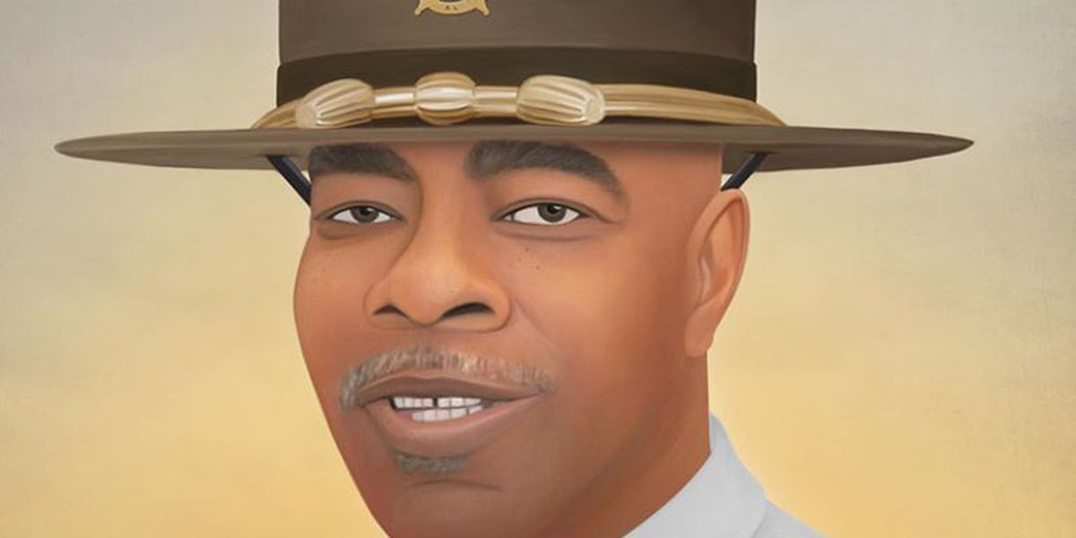 Artist creates his sixth Alabama fallen officer portrait of 2019