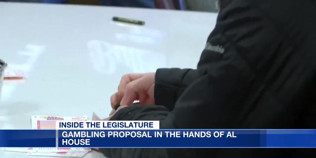 Gambling proposal in Alabama House's hands