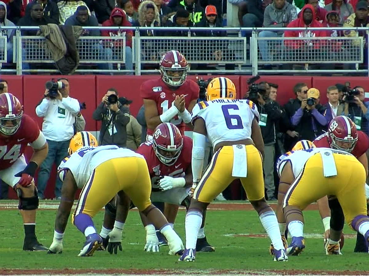 Battle ensues in Tuscaloosa, LSU comes out on top