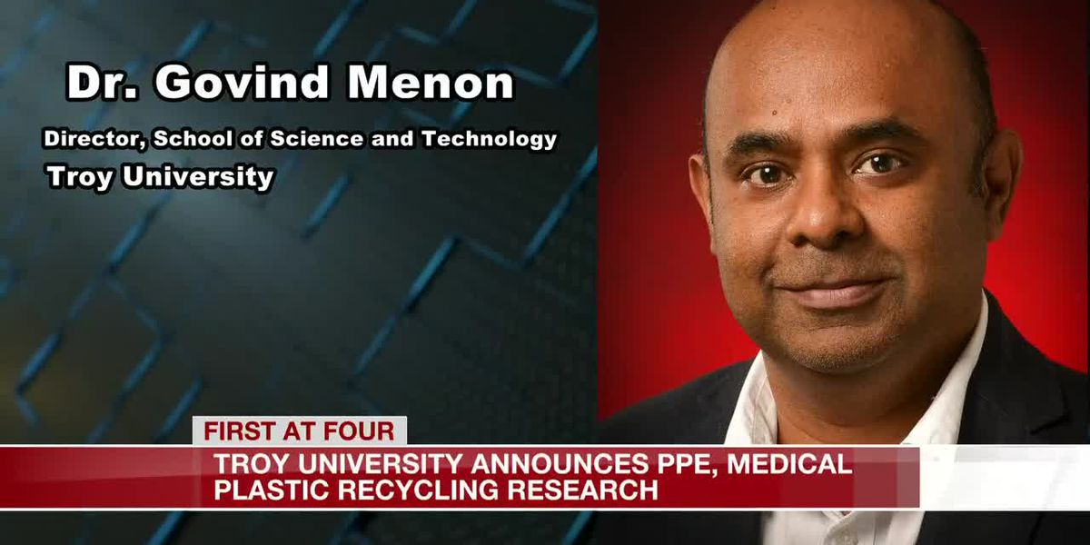 Troy University announces PPE, medical plastic recycling research