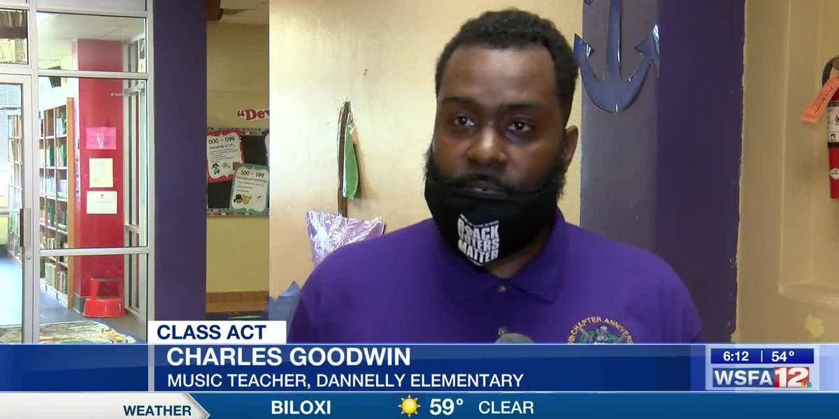 Class Act: Dannelly Elementary School's Charles Goodwin