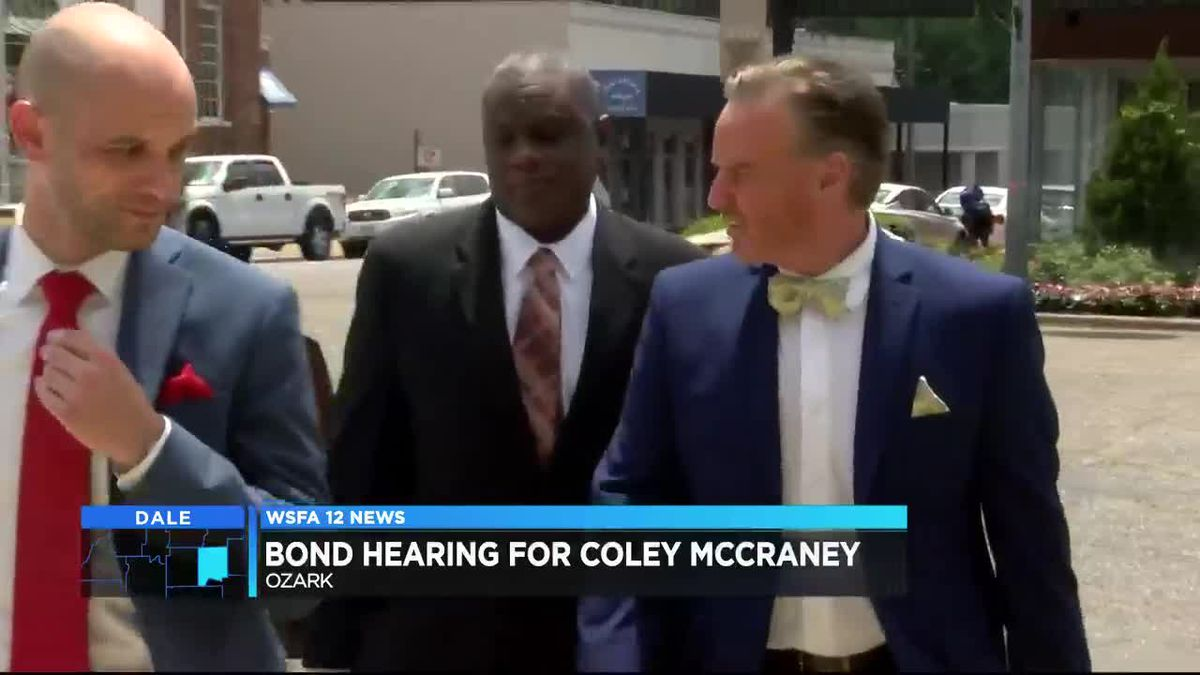 Bond Hearing Held For Coley McCraney