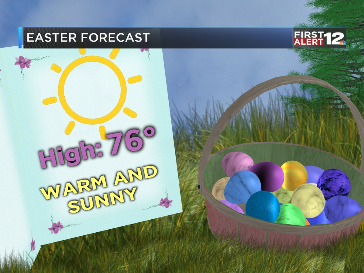First Alert: Warm and sunny Easter afternoon!