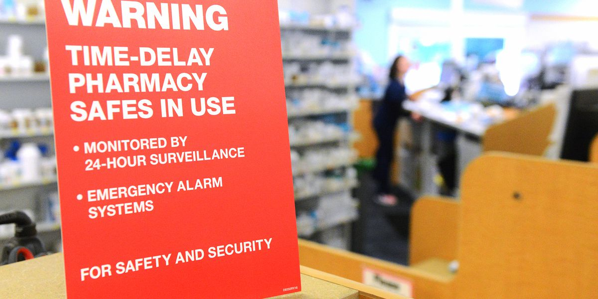 CVS installs time delayed safes to fight opioid robberies