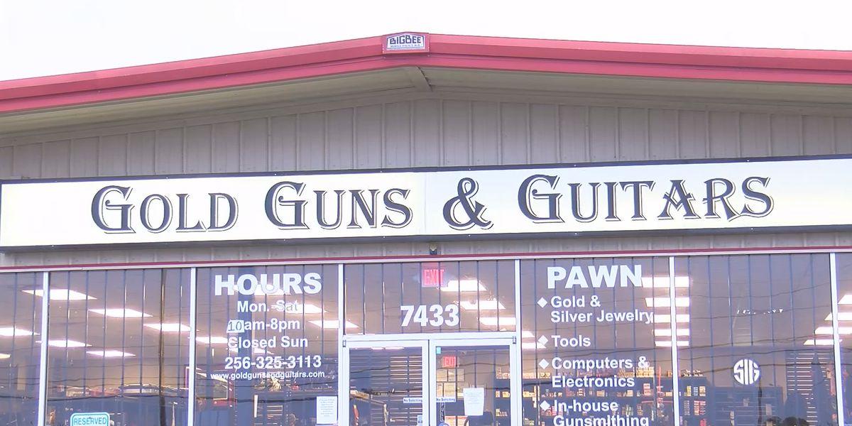 $10K reward offered in gun theft from Madison pawn shop