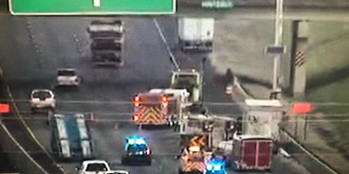 Vehicle fire causes heavy delays on I-65 NB near interchange