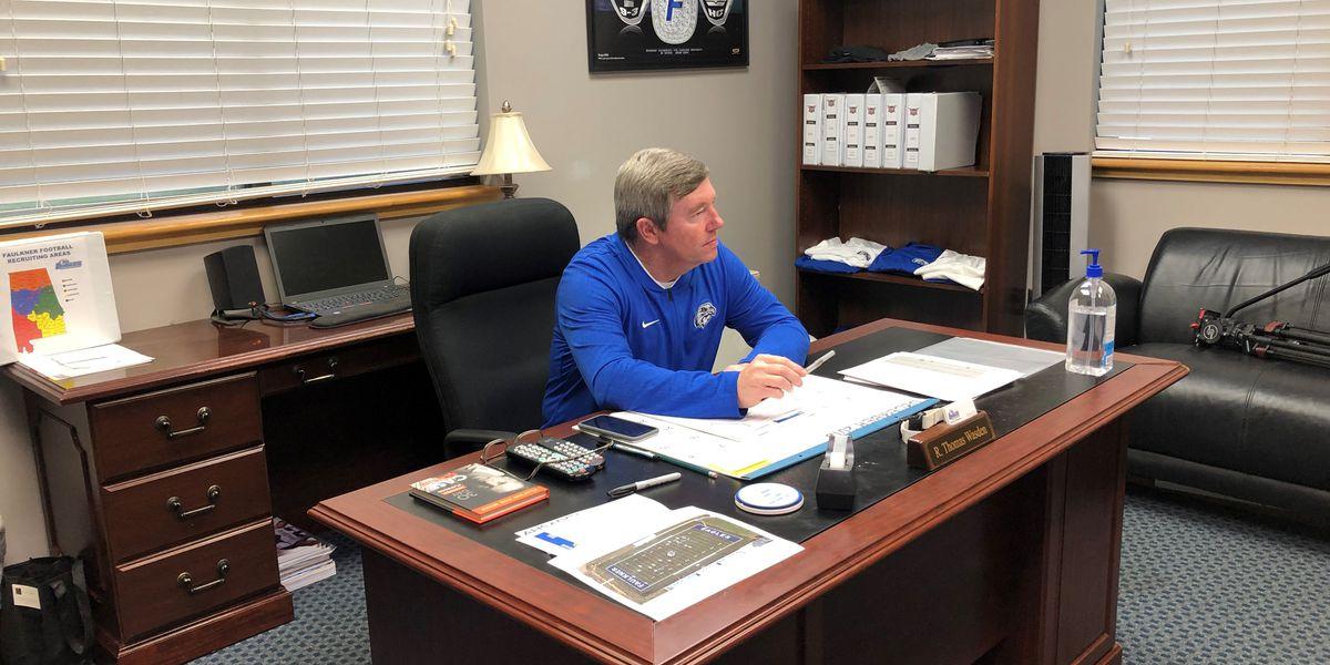 Tommy Wasden talks future of Faulkner football