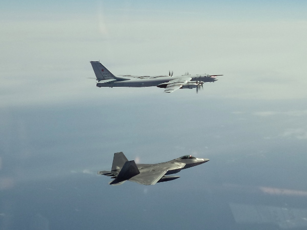 Twice in 2 days: Russian warplanes intercepted off coast of Alaska
