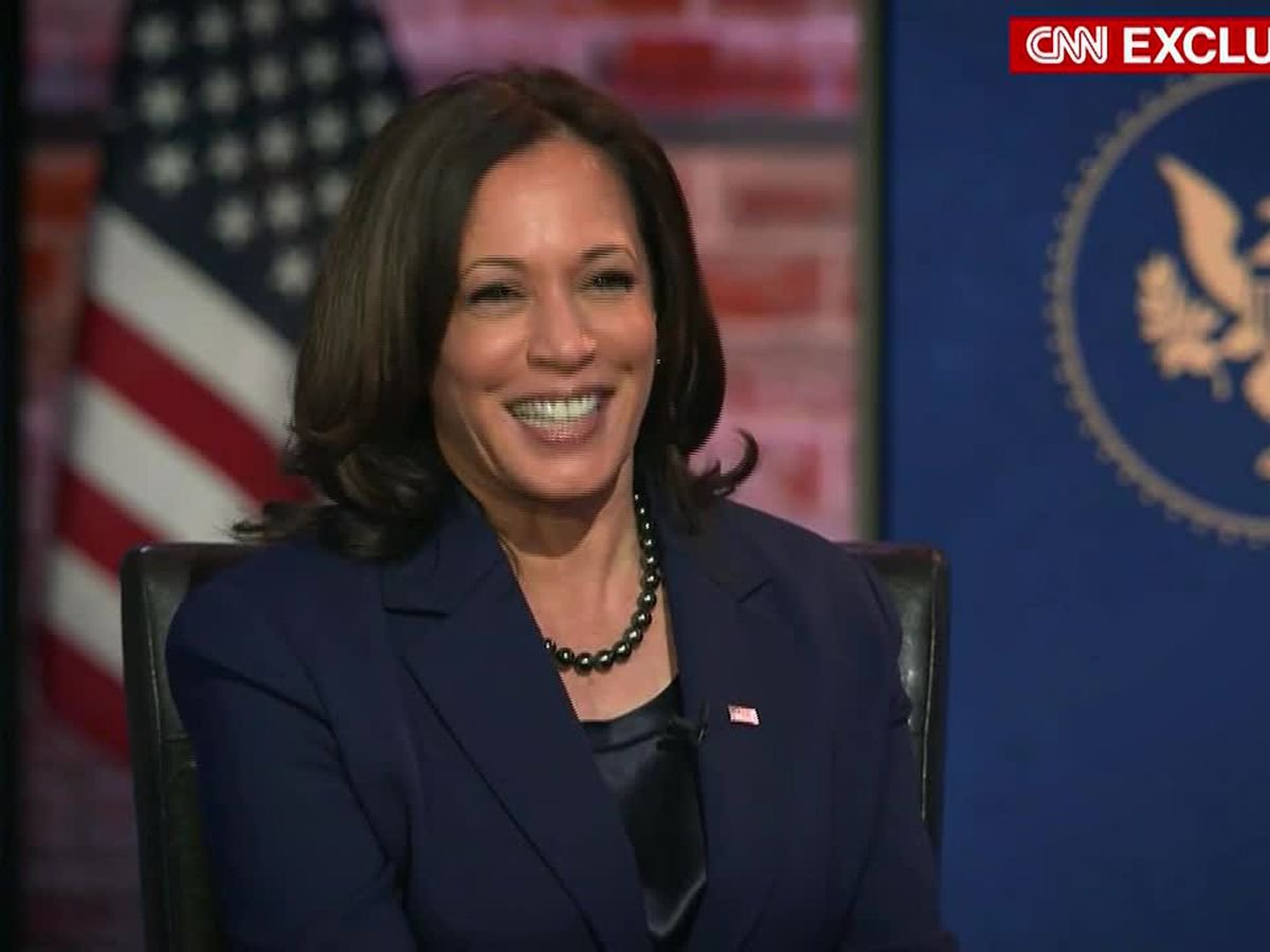 Kamala Harris says husband will be 'second gentleman'