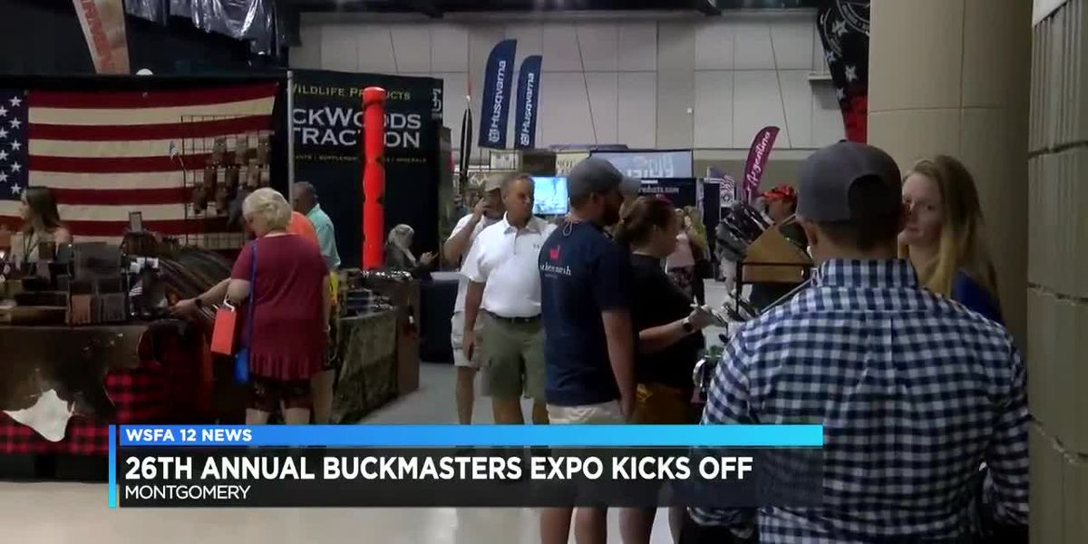 26th annual Buckmasters Expo underway