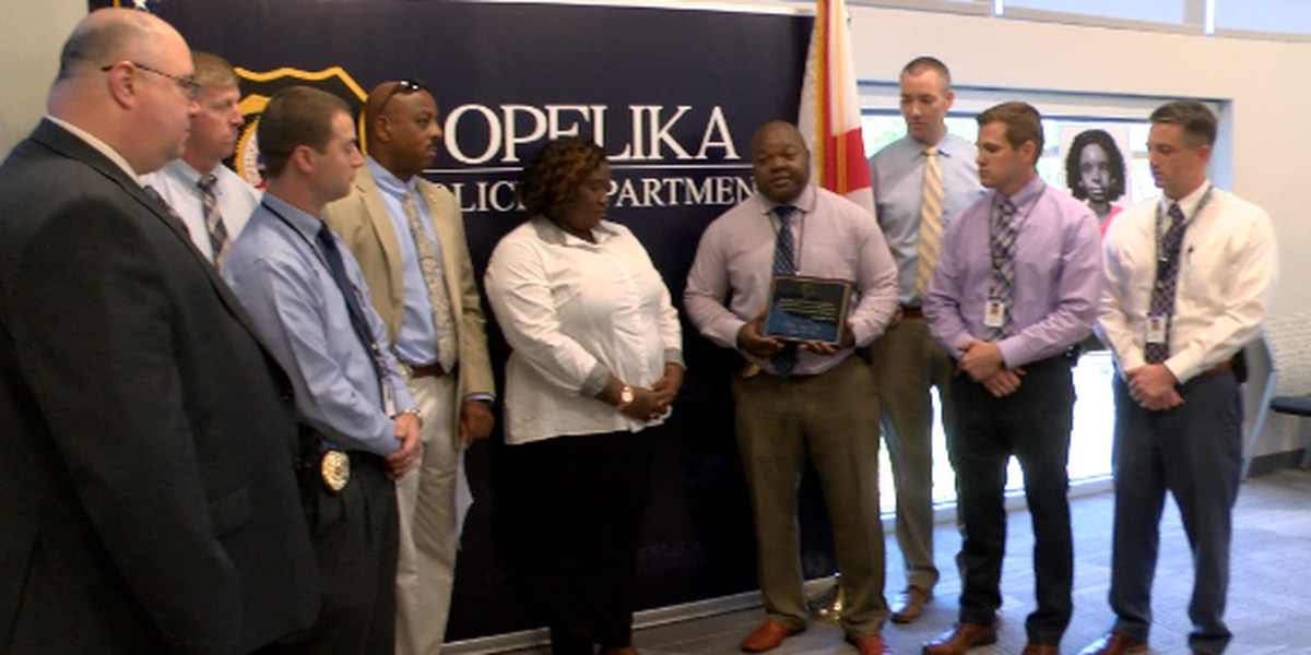 Opelika detectives recognized for continued work on Baby Jane Doe case