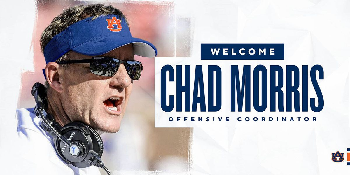 Auburn hires former Arkansas coach Chad Morris as offensive coordinator