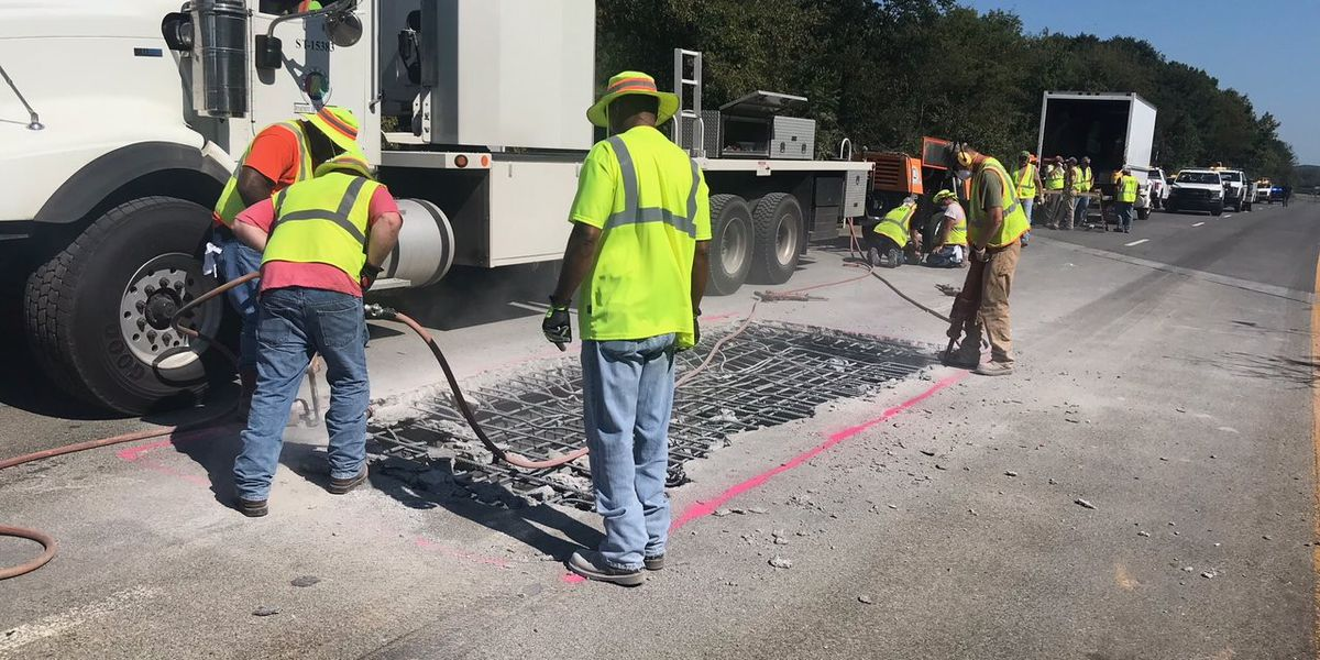 I-65 reopens in Morgan County following bridge repair
