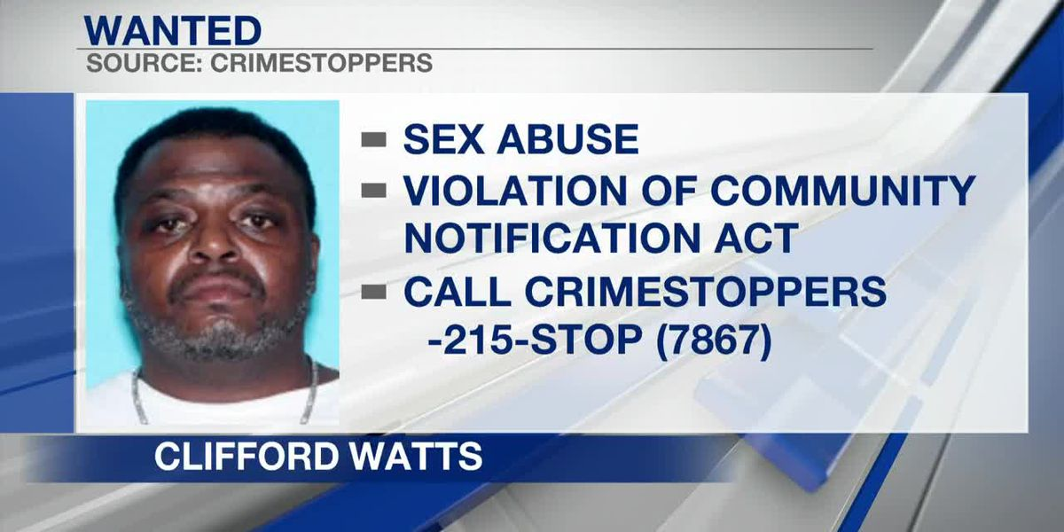 U.S. Marshals, police searching for sex abuse suspect