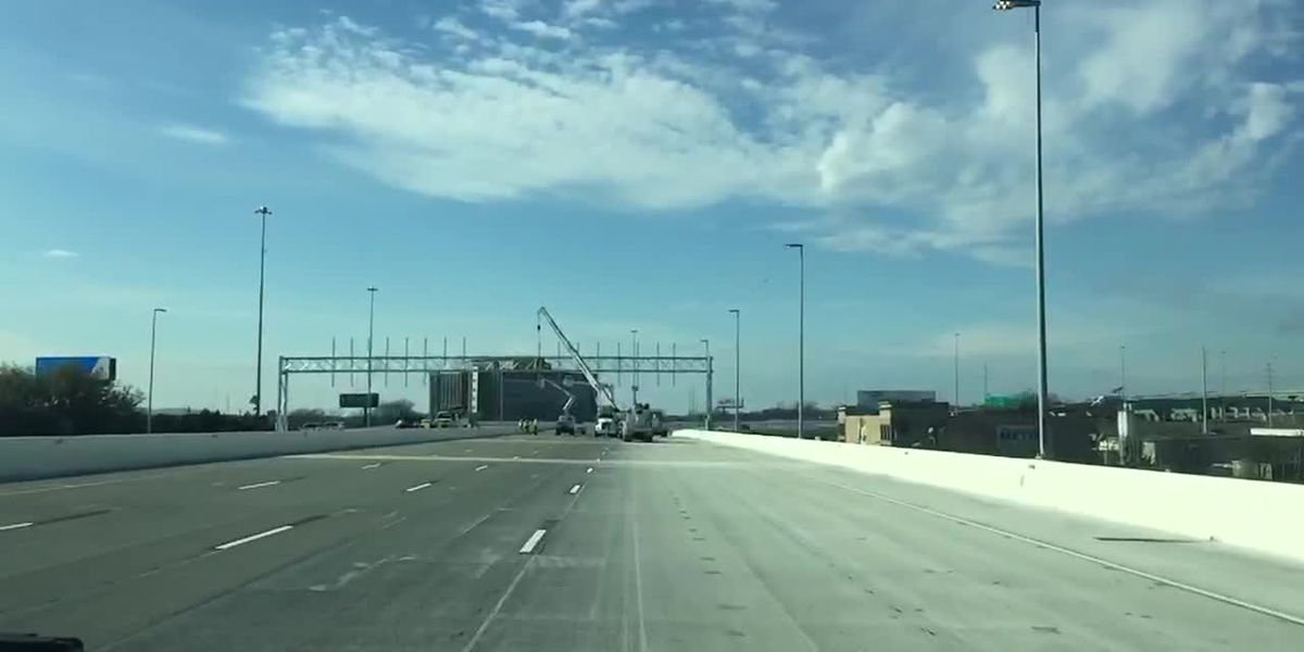 One of the new I-59/20 bridges will open Friday night