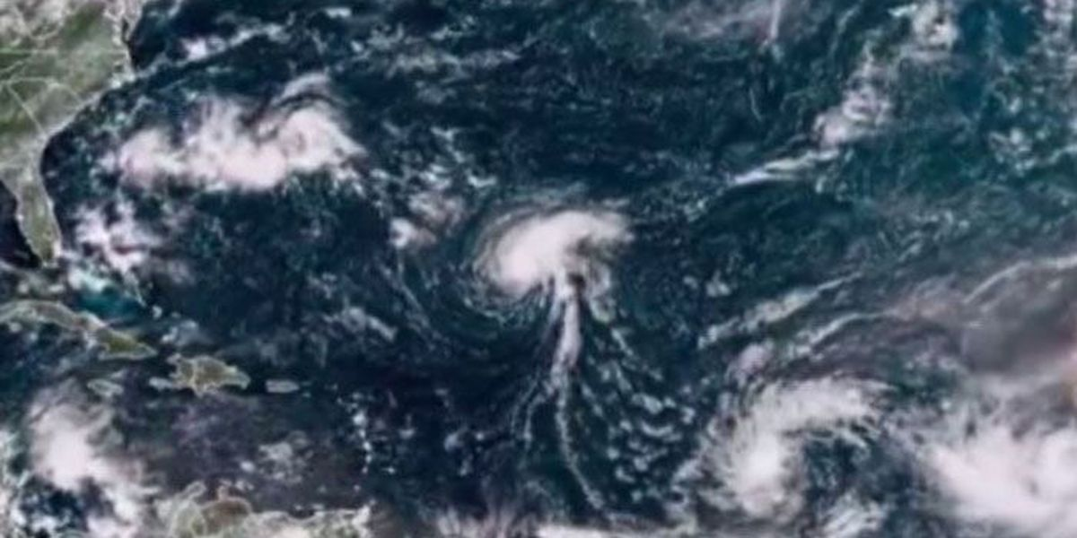 Tropical Storm Helene, 8th named storm of season, forms in Atlantic