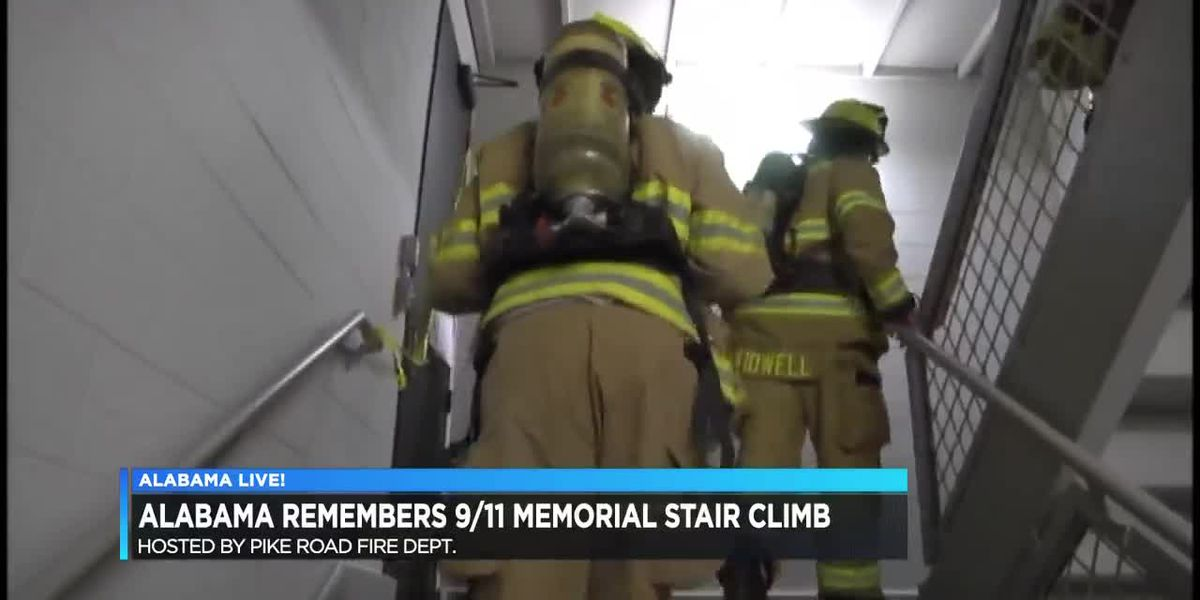 Alabama remembers: 9/11 Memorial Stair Climb