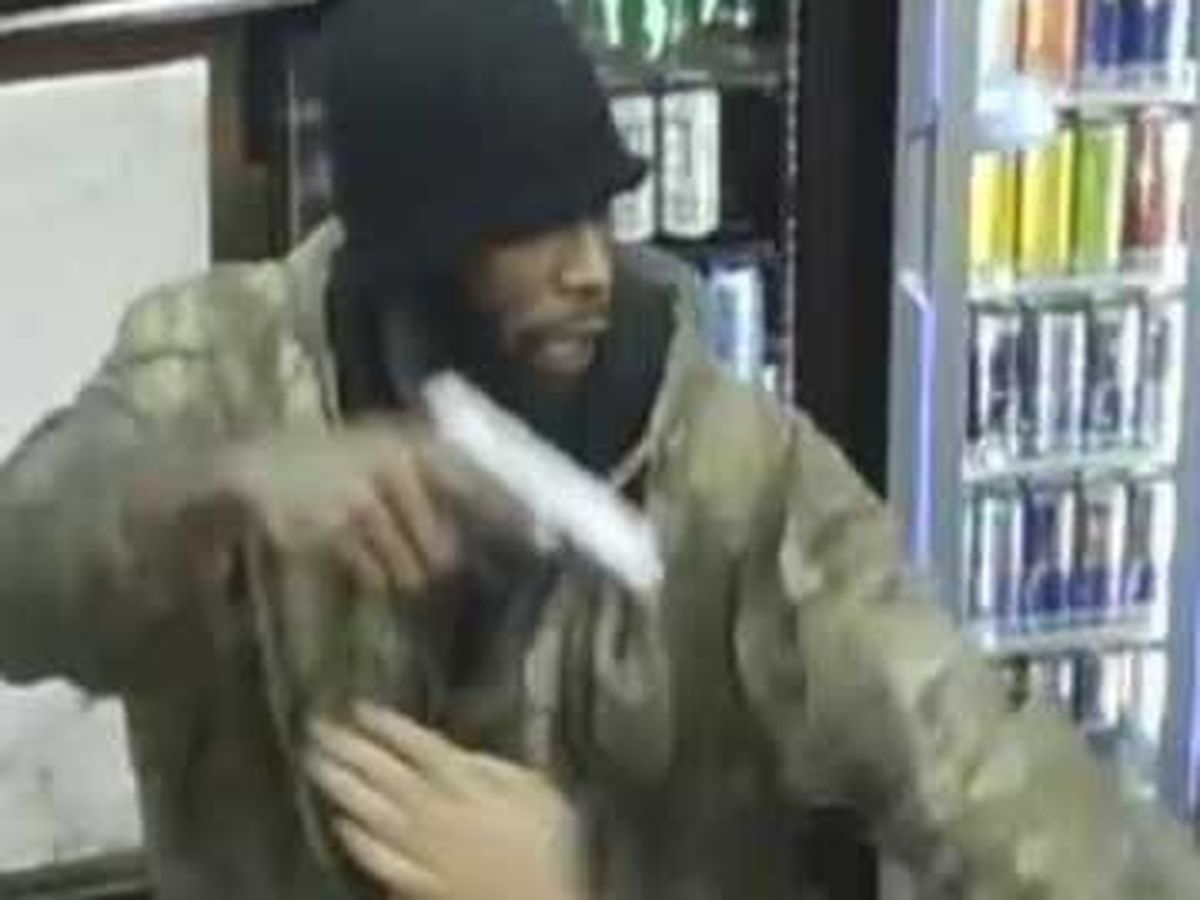 Armed robbery suspect wanted by sheriff's office