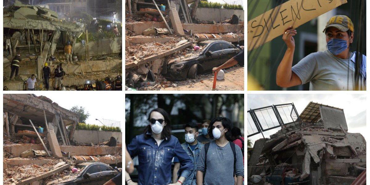 SLIDESHOW: Mexico earthquake kills more than 200