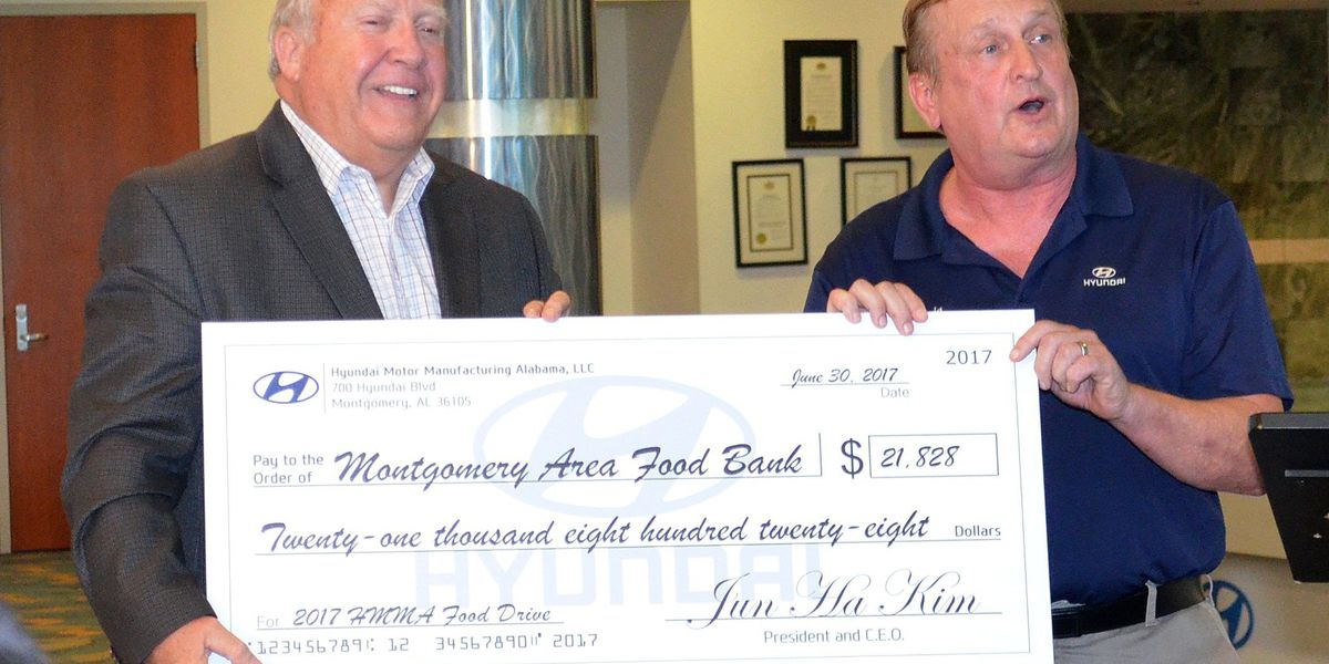 Local charity receives nearly $22k in donations from AL company