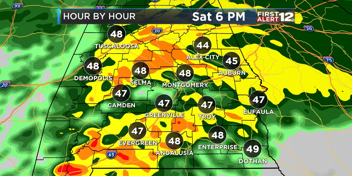 First Alert: Cold, dreary weekend
