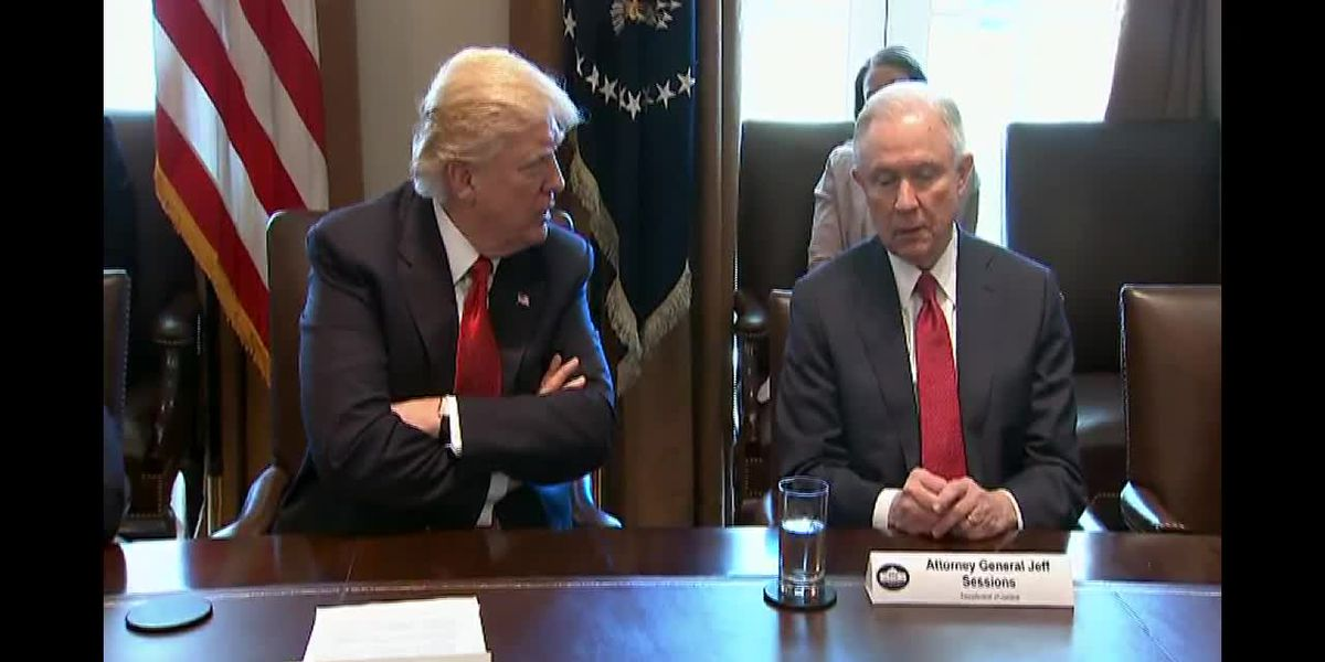 Sessions, running for Senate, rejects Trump's criticism