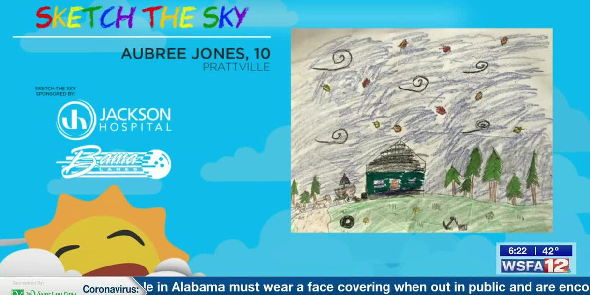 Sketch the Sky winner: Aubree Jones