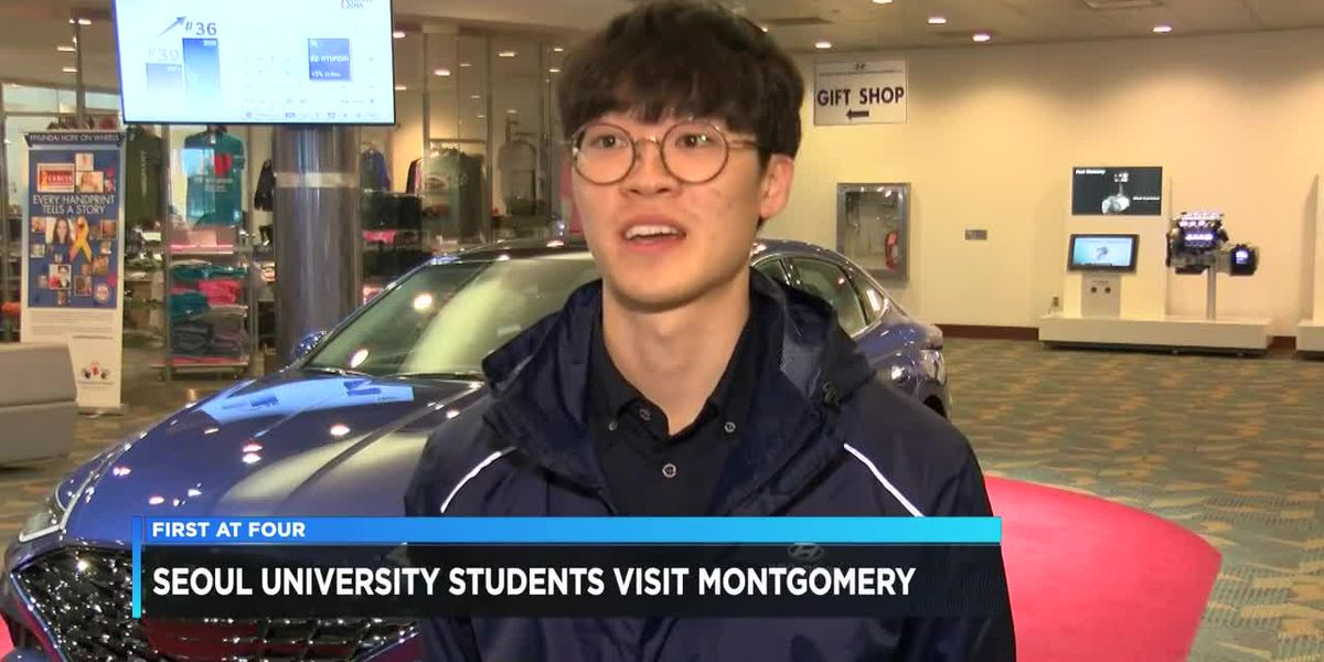 Seoul University students visit Montgomery