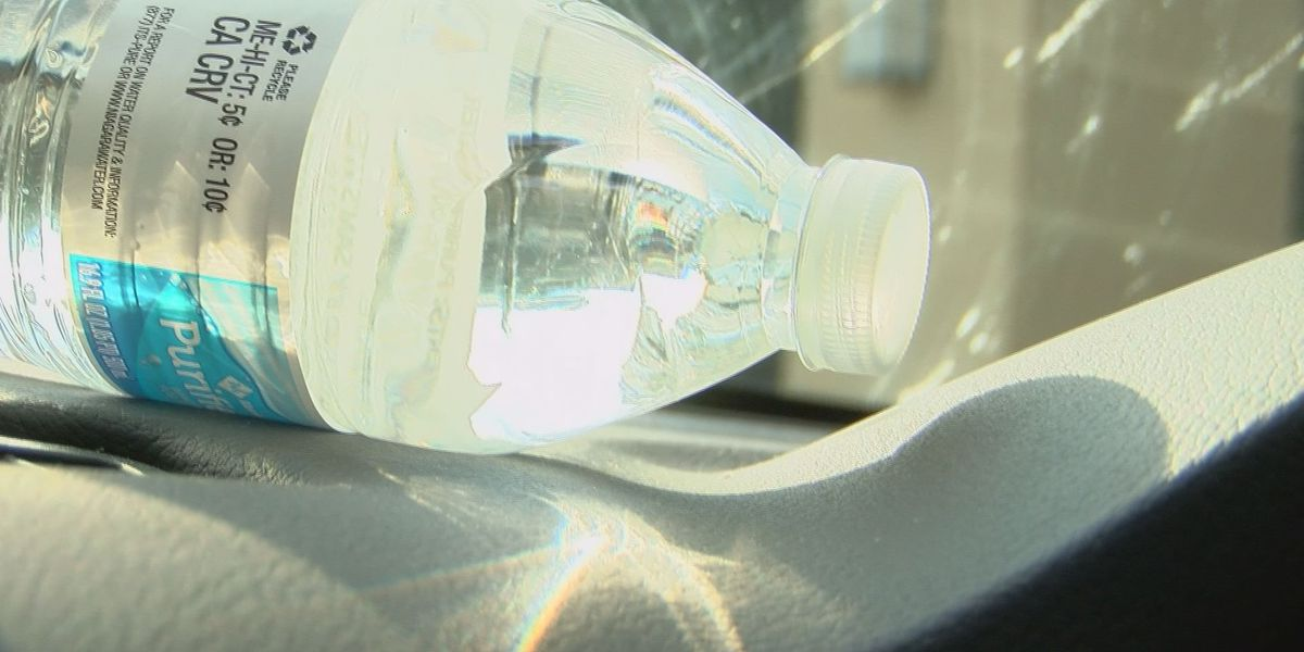 Did you know leaving a water bottle in your car could be dangerous?