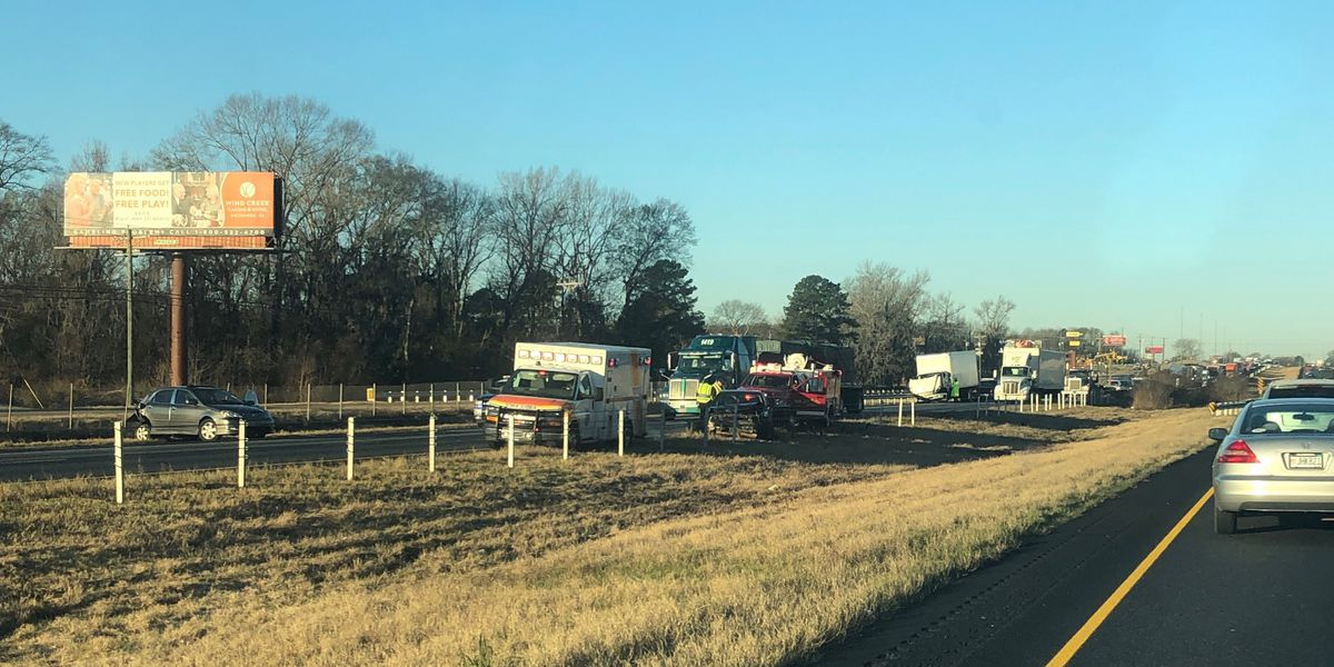 Lanes of I-85 NB near Chantilly open after crash