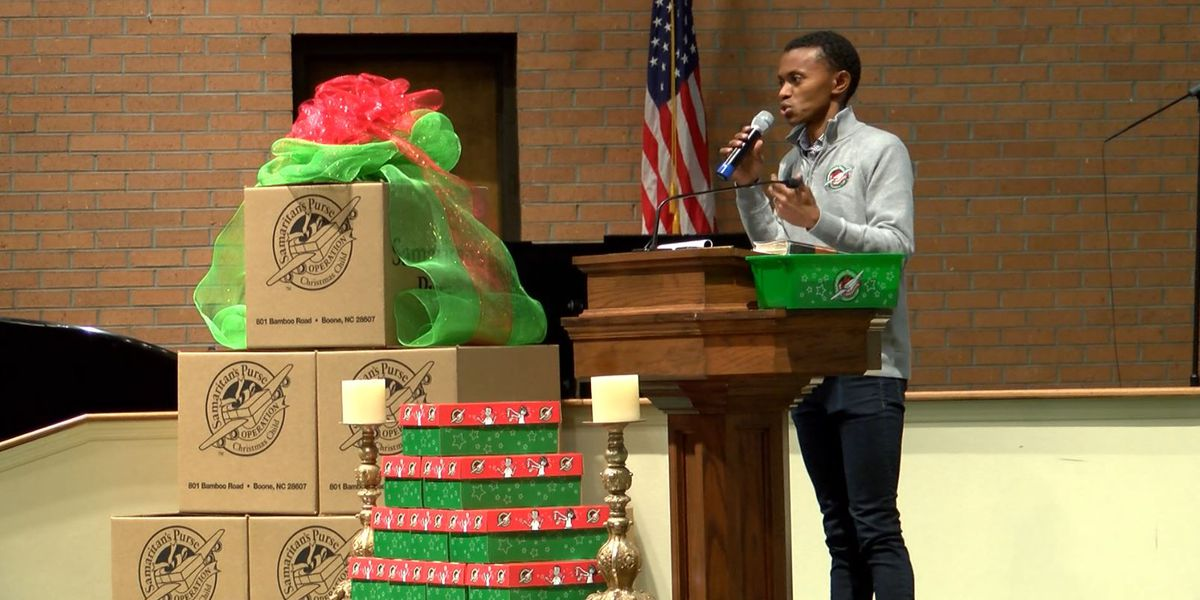 Recipient of 'Operation Christmas Child' shoebox shares life-changing impact