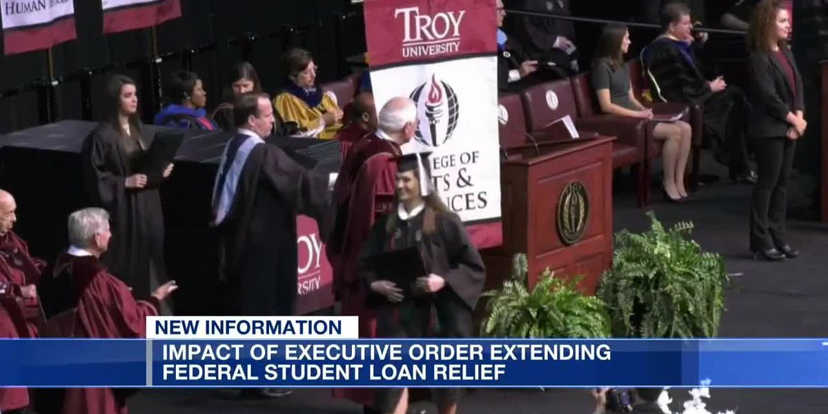 Impact of executive order on student loan relief