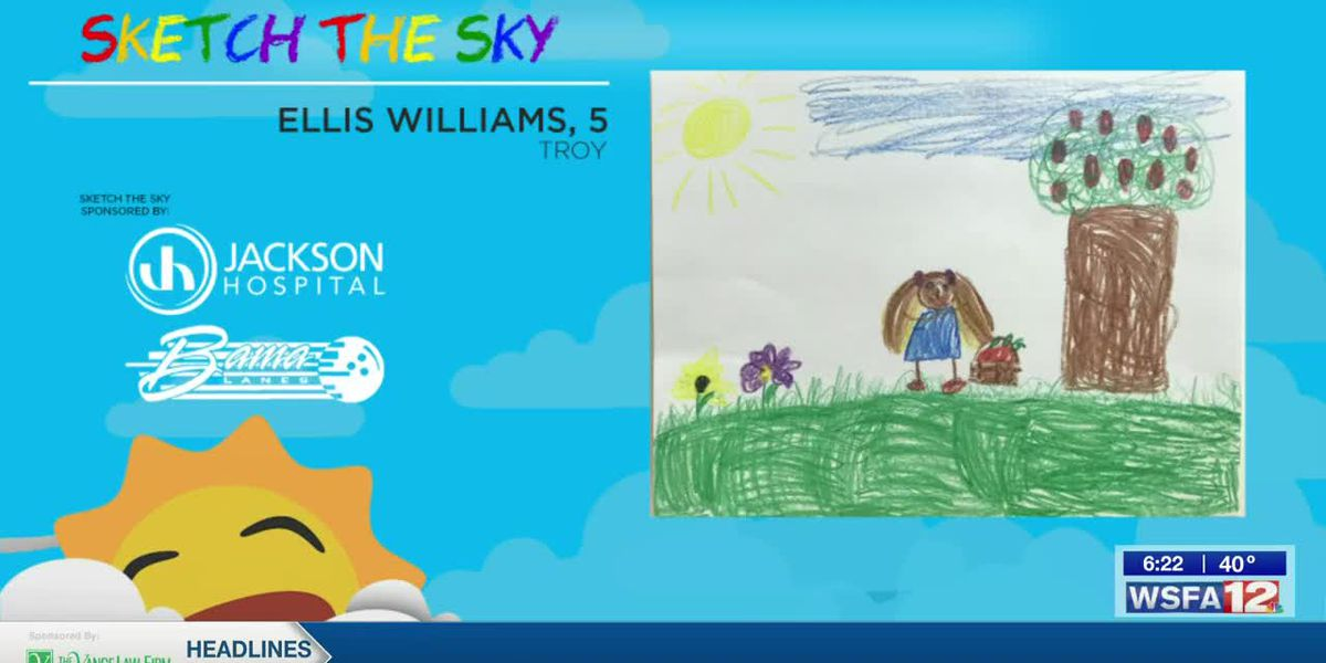 Sketch the Sky winner: Ellis Williams
