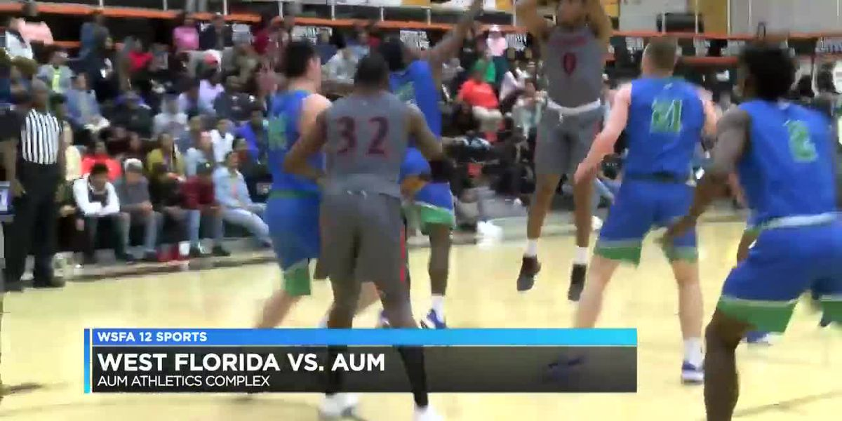 AUM downs West Florida in hoops action