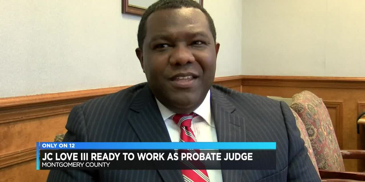 JC Love III ready to work as probate judge