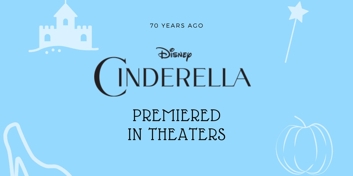 'Cinderella' premiered in theaters on this day in 1950