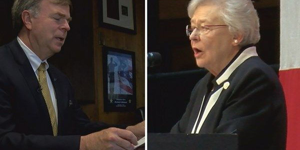 Ivey, Battle trade exchanges over lack of gubernatorial debate